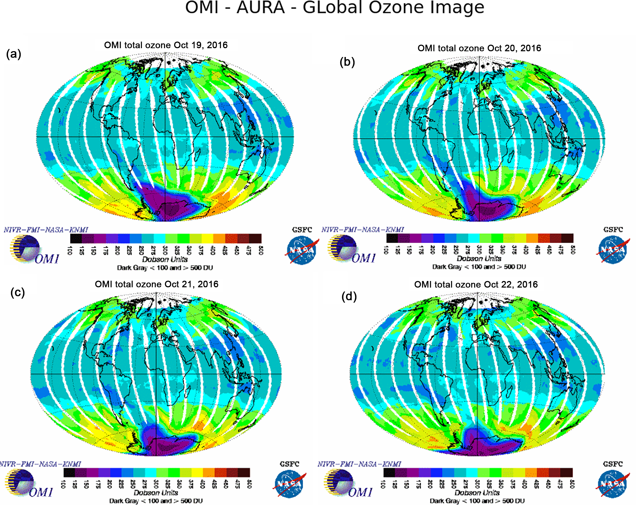 ANGEO - Report of a large depletion in the ozone layer over